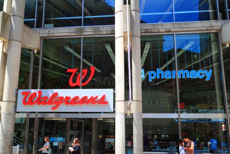 Walgreens-Apotheken-Speicher stockfotografie