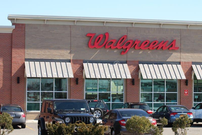 Walgreens apteka na Long Island fotografia royalty free
