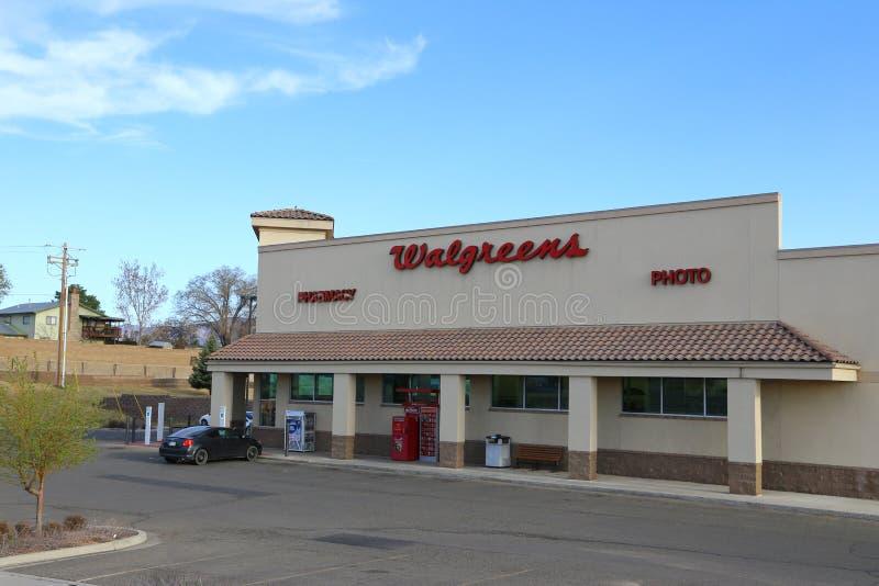 Walgreens apteki sklep zdjęcia stock