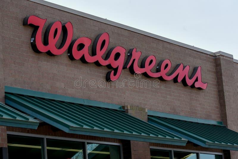 Walgreens znak zdjęcia stock