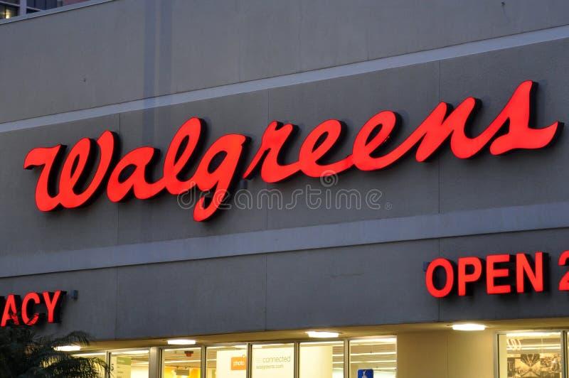 Walgreensopslag in Miami, de V.S. stock afbeeldingen