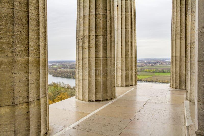 Interior of the Walhalla memorial, in Donaustauf, Bavaria ... |Inside Walhalla Memorial