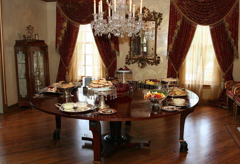walić formalnego pokój zdjęcie royalty free