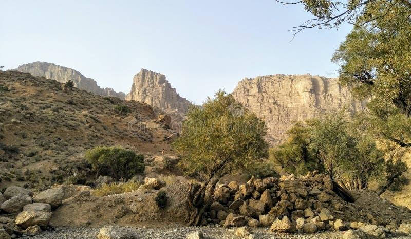 Wali Tangi Park Quetta Pakistan royaltyfria foton
