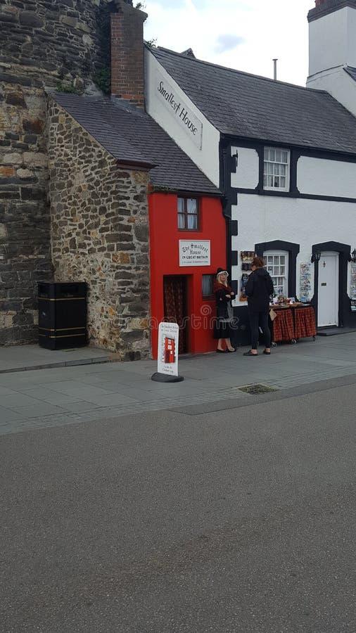 Walia mały dom w Britain zdjęcie stock
