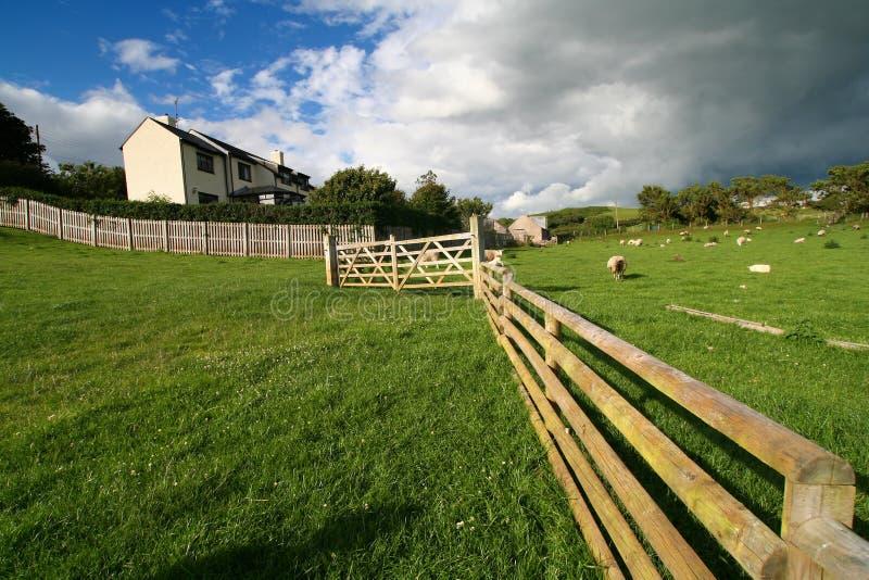 Waliser-Landschaft stockfoto