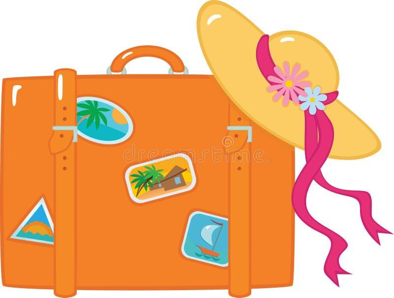 walizka ilustracji