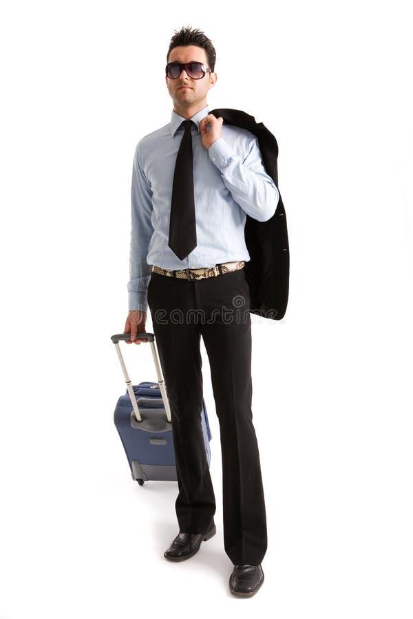walizka człowieka fotografia royalty free