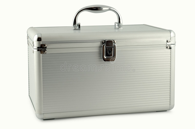 walizka metali obraz stock