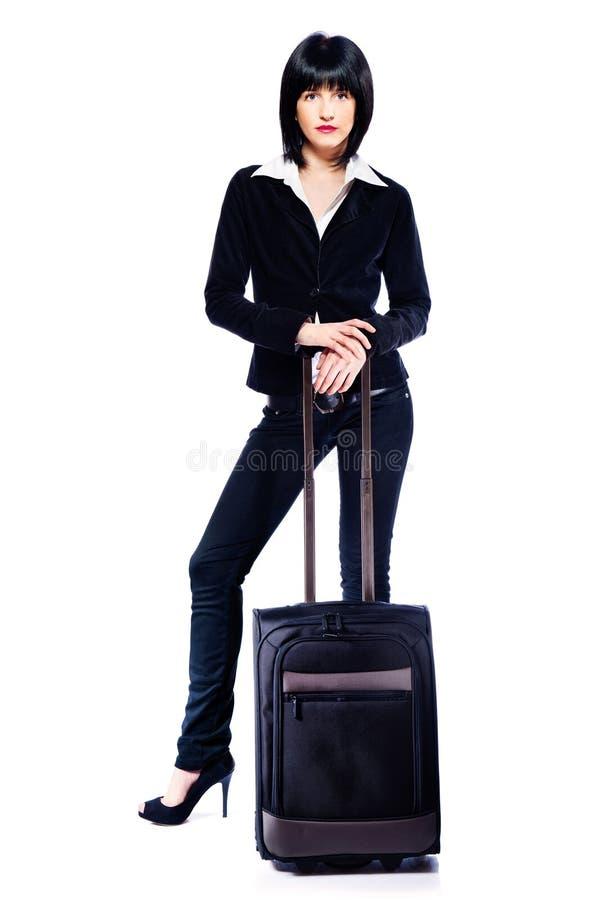 walizki biznesowa kobieta obraz royalty free