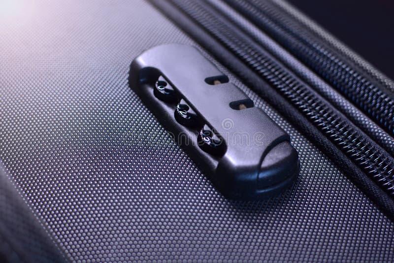 Walizki kombinacji bagażowy kędziorek obraz stock