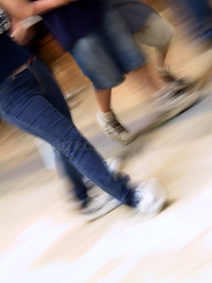 Download A Walk stock photo. Image of abstract, teens, motion, group - 20450