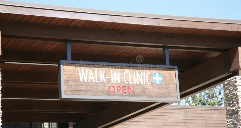 Walk in Clinic stock images