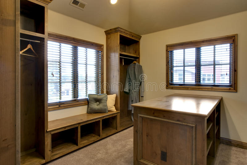 Download Walk In Closet stock photo. Image of cabinetry, dressing - 11069764