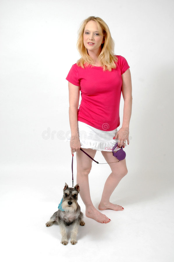 Download Walk the Dog stock image. Image of defend, female, friend - 760015