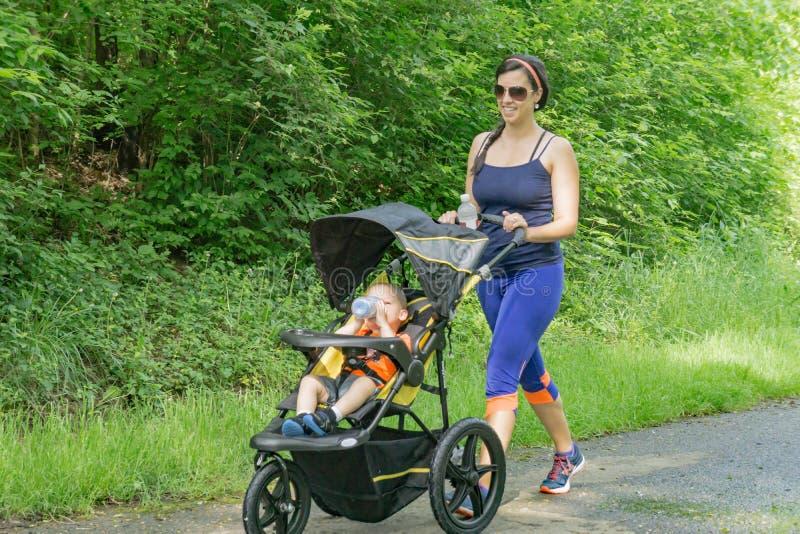 Walk for Life, Roanoke, Virginia, USA royalty free stock photography