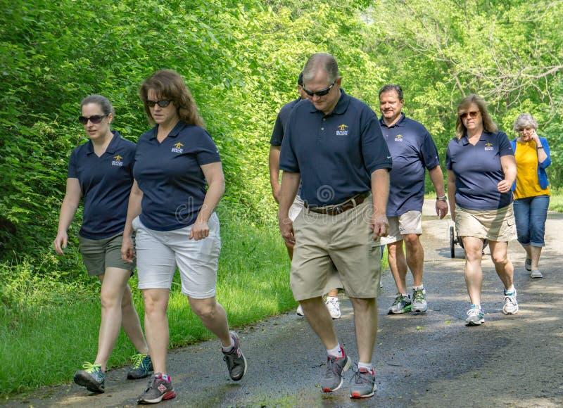 Walk for Life, Roanoke, Virginia, USA royalty free stock image