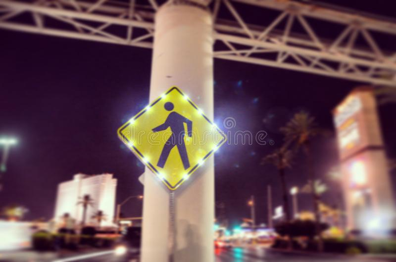 Walk the line royalty free stock image