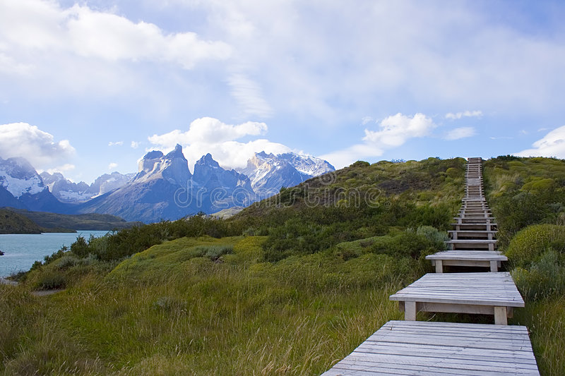 Download A walk in patagonia stock image. Image of post, detailed - 2573937