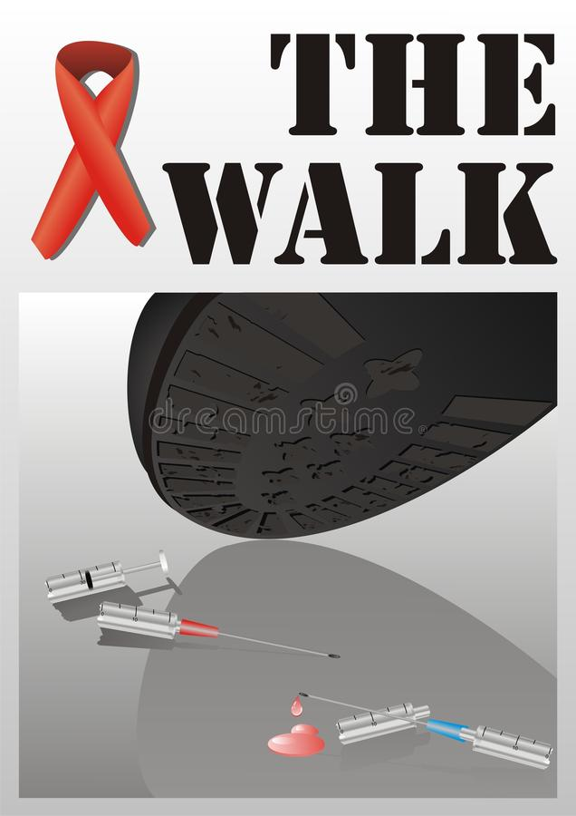 Download The Walk Poster Stock Images - Image: 16656534