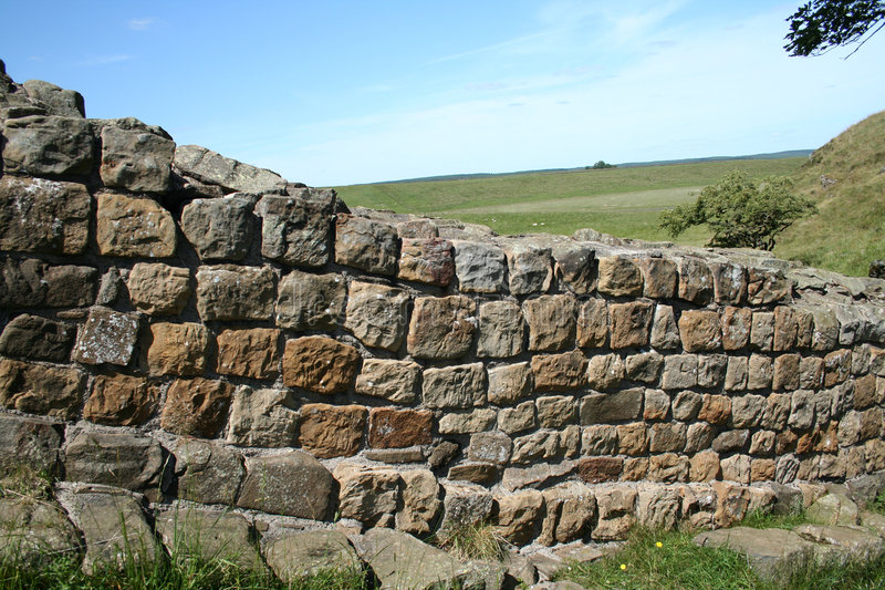 Download Walk the Roman Wall stock image. Image of wexercise, england - 971123