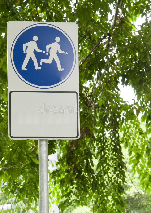 Download Walk and Run sign stock image. Image of keep, zone, sport - 16724571