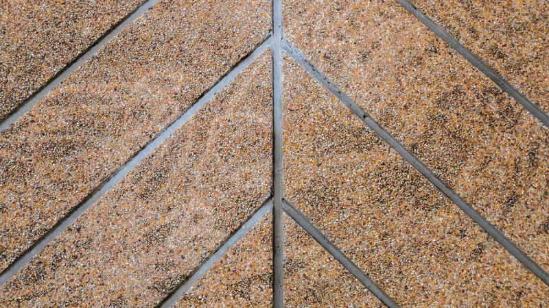 The walk way sloping sand wash. The walk way sloping sand wash royalty free stock image