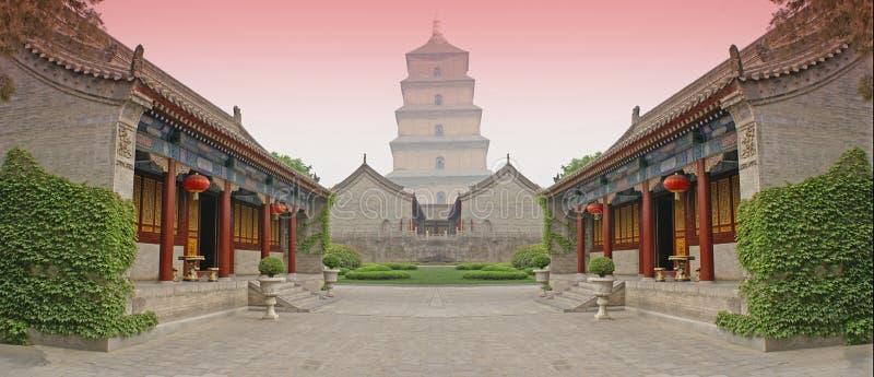 walka chińskiego areny royalty ilustracja