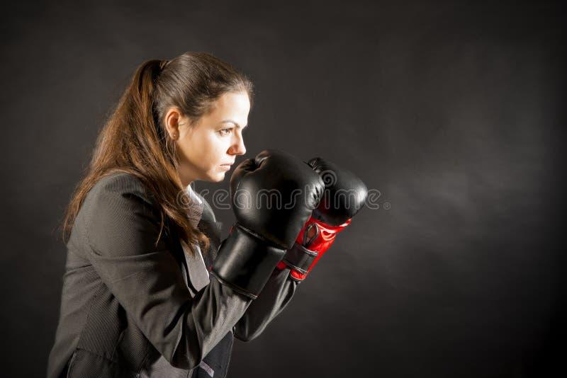 walka gotowa zdjęcia stock