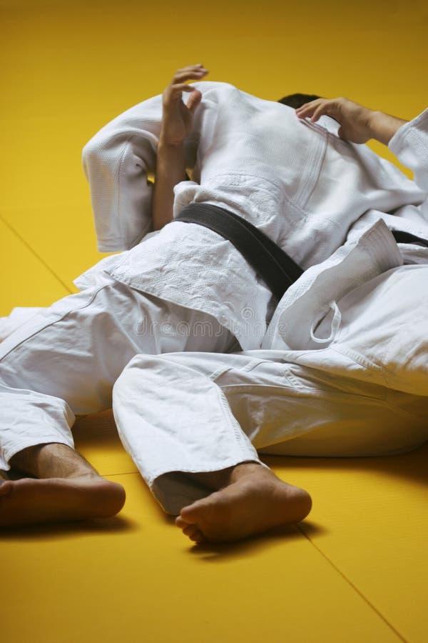 walka judo obrazy royalty free