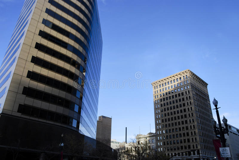 Walker Center em Salt Lake City imagens de stock