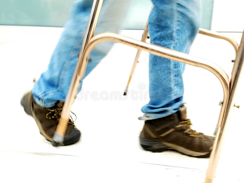 Mobility walker royalty free stock photos
