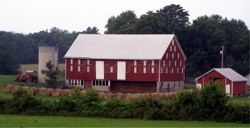 Walkersville, Maryland Farmland royalty free stock image