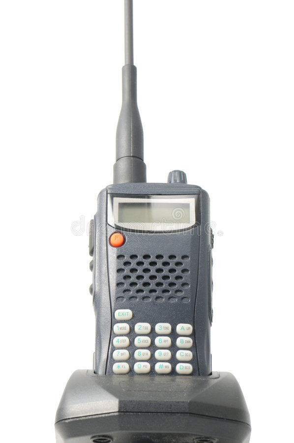 walkie talki стоковое изображение