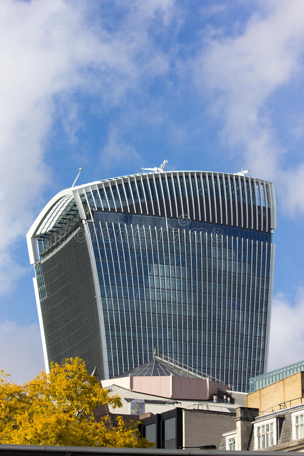 20 Walkie-Talkie» οδών Fenchurch «κτήριο - Λονδίνο στοκ φωτογραφίες με δικαίωμα ελεύθερης χρήσης