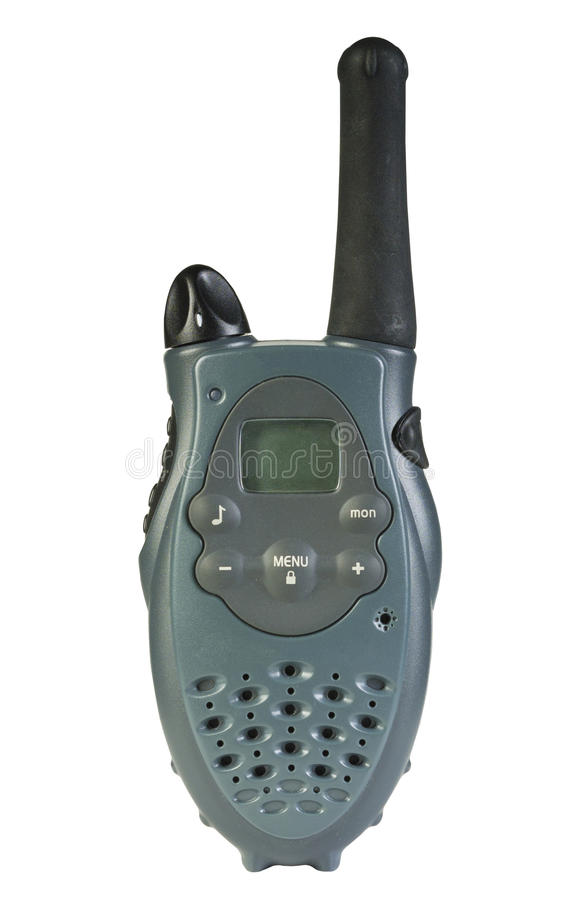 Download Walkie-talkie stock photo. Image of transmission, knob - 26015414
