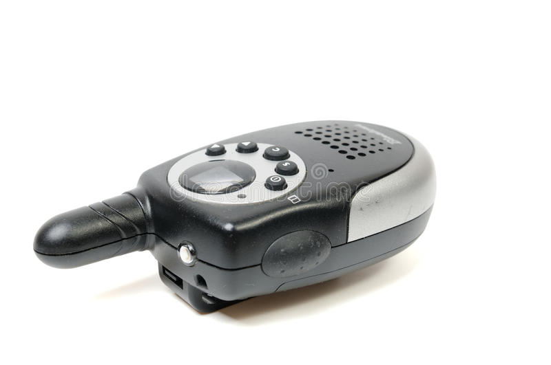Walkie-talkie. On a white background stock images
