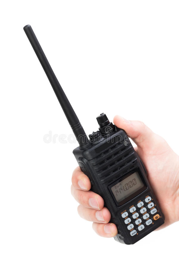 Walkie-talkie στοκ φωτογραφία με δικαίωμα ελεύθερης χρήσης
