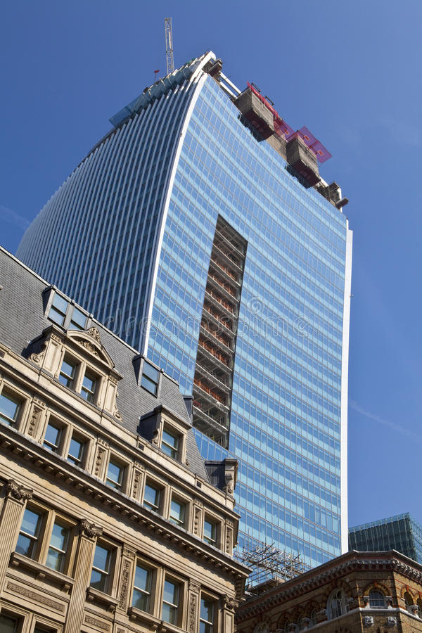 Download The Walkie Talkie Building In Fenchurch Street Editorial Stock Photo - Image of fenchurch, tall: 33481733