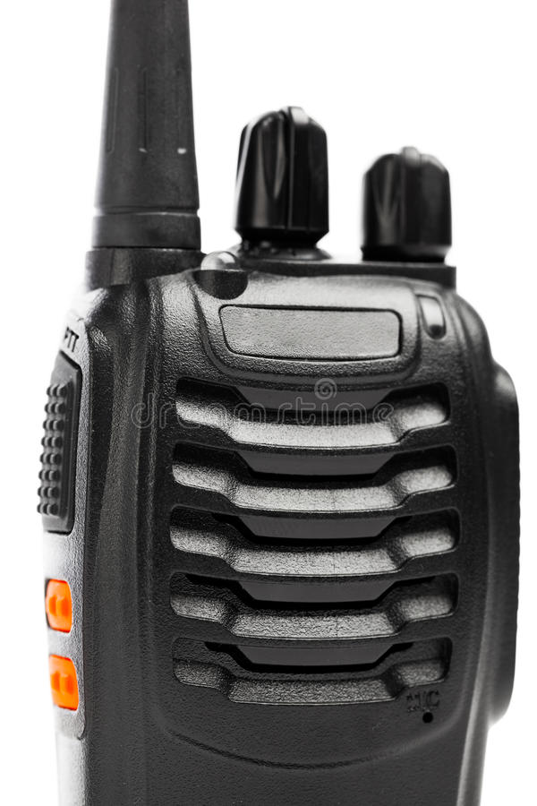 Walkie-talkie för bärbara radior royaltyfri bild