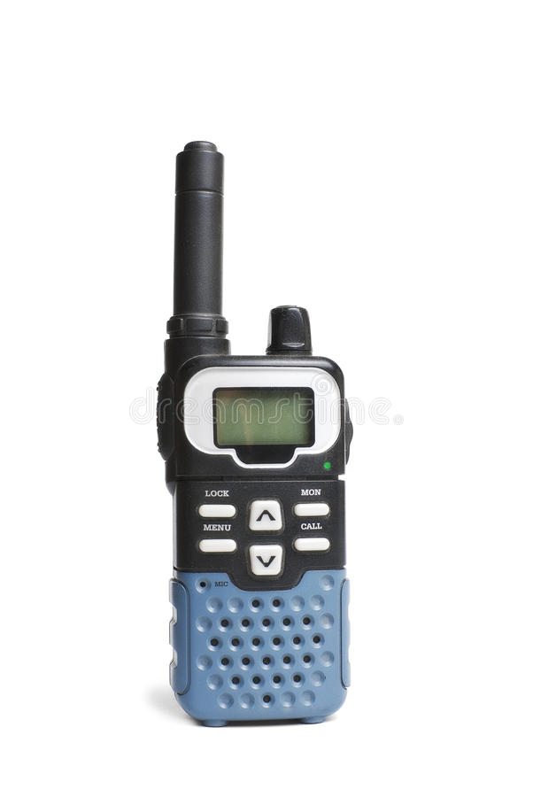 Walkie-talkie | Isolated royalty free stock photo