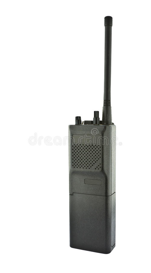 Free Walkie Talkie On White Background Royalty Free Stock Photos - 20520458