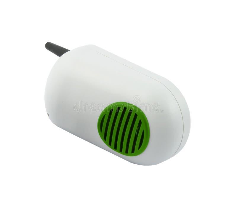Walkie-talkie som isoleras på vit fotografering för bildbyråer