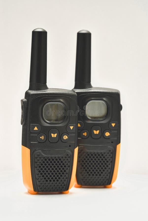 Walkie-talkies στοκ εικόνα