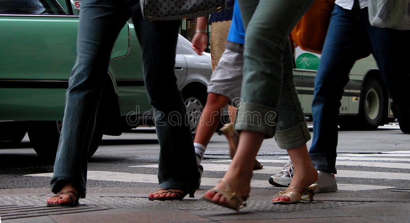 Download Walking stock photo. Image of fingers, heeled, footwear - 14416