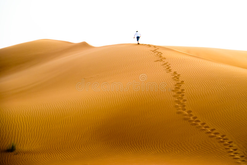 Download Walking alone stock photo. Image of trail, desert, route - 6701018