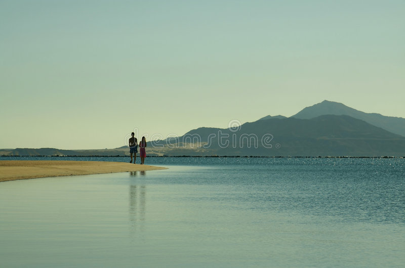 Download Walking Along Coastlines For Red Sea Stock Photography - Image: 1765242
