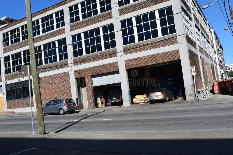 Walking around the City. Nashville daily city life stock photography