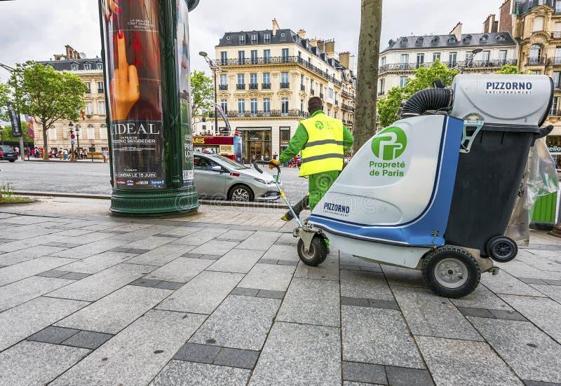 Walking around Paris royalty free stock images