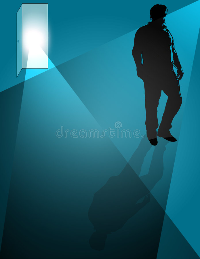 Download Walking Away stock illustration. Image of humble, clip - 503622